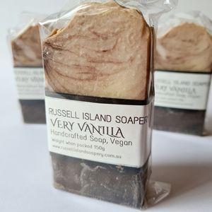 New VEGAN Very Vanilla Handcrafted Soap 150g Made in Australia